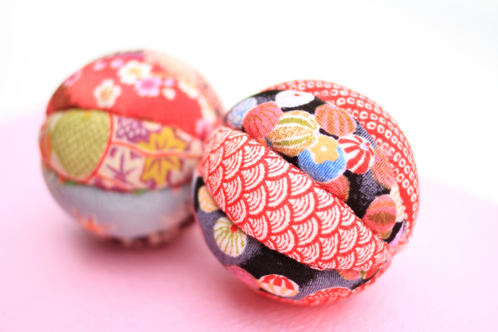 Temari balls is a traditional Japanese art form