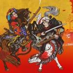 Japanese samurai used guns during the Edo Era