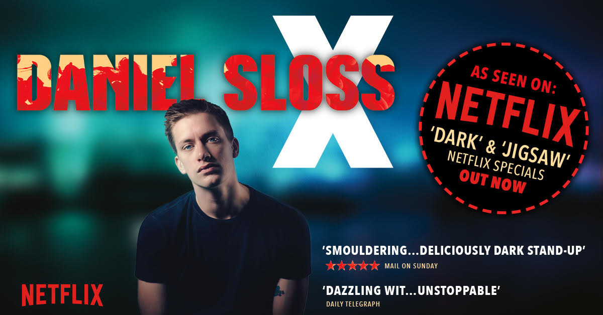 Comedian Daniel Sloss is coming to Tokyo