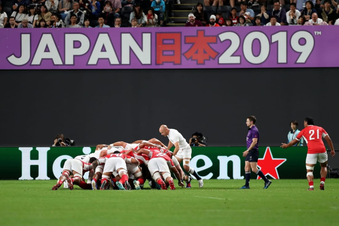 England vs Tonga at Rugby World Cup