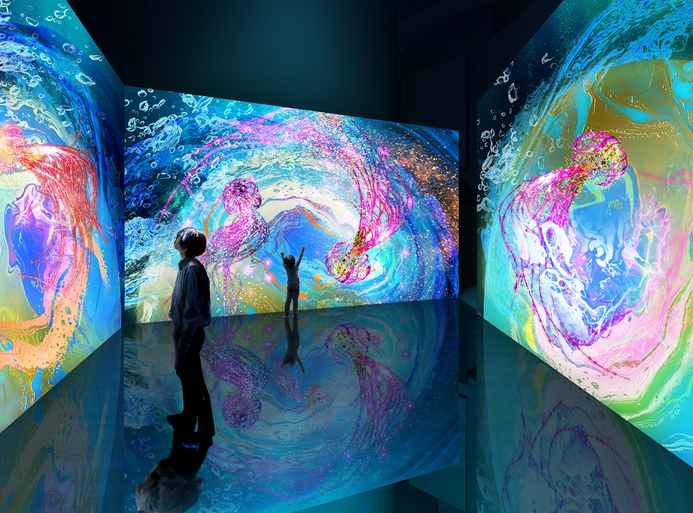 projection mapping gallery