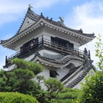 Kochi Castle in Shikoku Japan