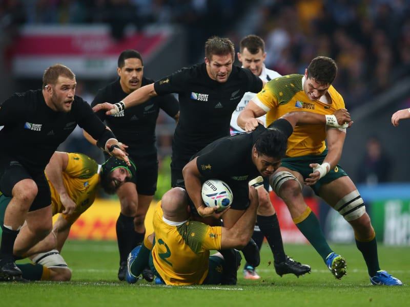 New Zealand vs Australia rugby