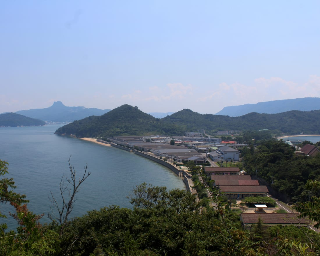 Oshima island in the Seto inland sea