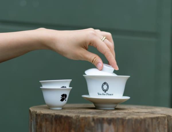 Tea for Peace tea cup