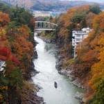 Take a Boat Tour Through Tenryukyo Gorge for Poetic Fall Foliage Views