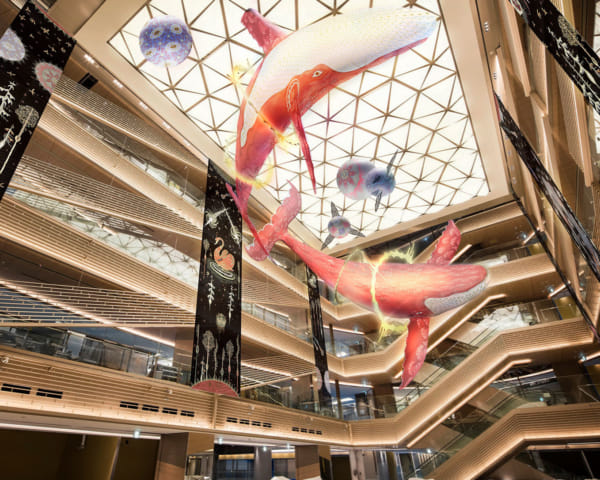 "GINZA SIX Unveils a New ""Astral Sea"" Art Installation for the Festive Season"