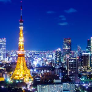 Tokyo Tower night scene