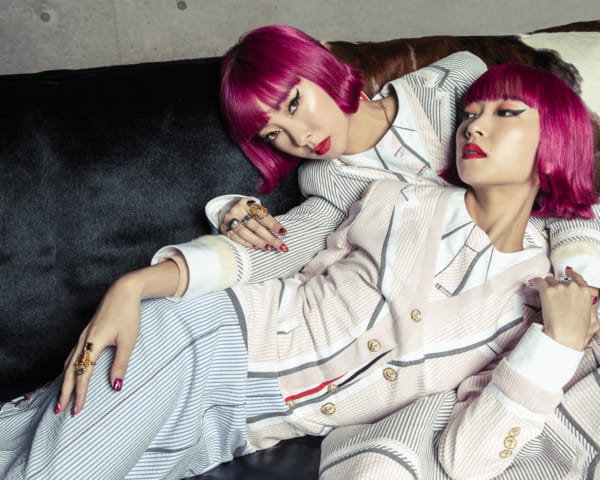 """We Want to Create Our Own Genre"": Pop Culture Twins AMIAYA Talk Fashion, Passion and Tricking Their Boyfriends"