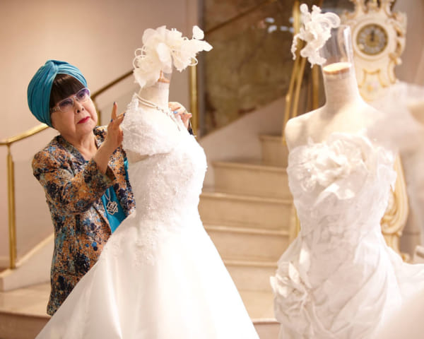 Iconic Japanese Wedding Dress Designer Yumi Katsura: Still Making Dreams Come True at 87 Years Old
