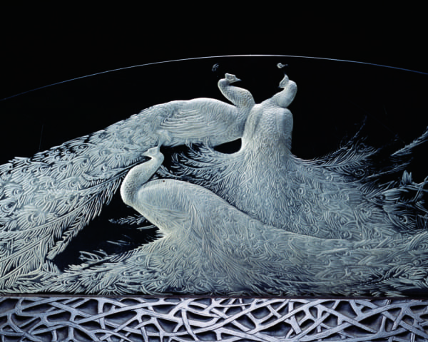 Lalique's Elegant Glasswork the Perfect Marriage with Japan's Royalty