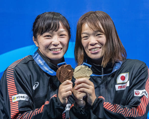 Meet the 2020 Athletes: Wrestling Sister Act Risako and Yukako Kawai