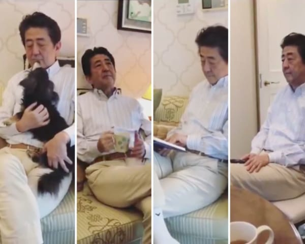 """""""Who Do You Think You Are?"""":  PM Shinzo Abe's #StayHome Viral Video Angers Japan's Social Media"""