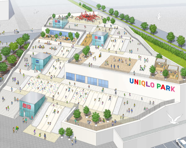 Uniqlo Unveils a New Outdoor Shopping Park in Yokohama
