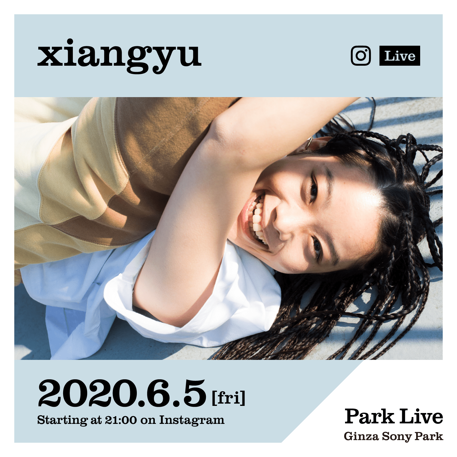 Ginza Sony Park xiangyu Tokyo Weekender Online Streaming Music