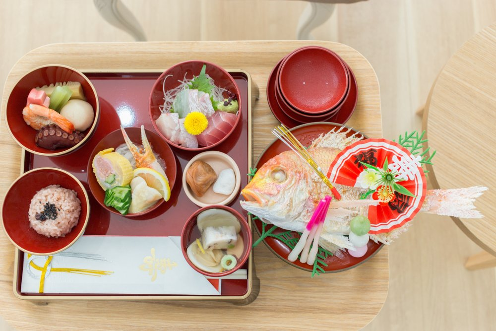 Okuizome baby tradition first meal Japan