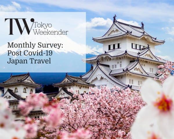 TW Monthly Survey: Share Your Thoughts On Traveling in Japan After Covid-19