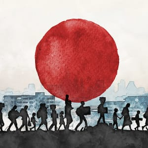 Refugees seeking asylum in Japan pandemic