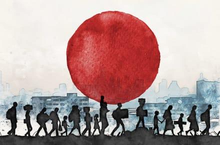 Refugees seeking asylum in Japan pandemic