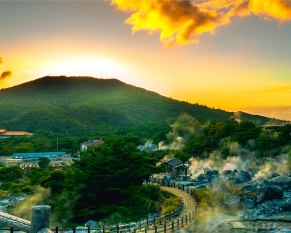 Unzen Onsen: This Could be Heaven or This Could be Hell
