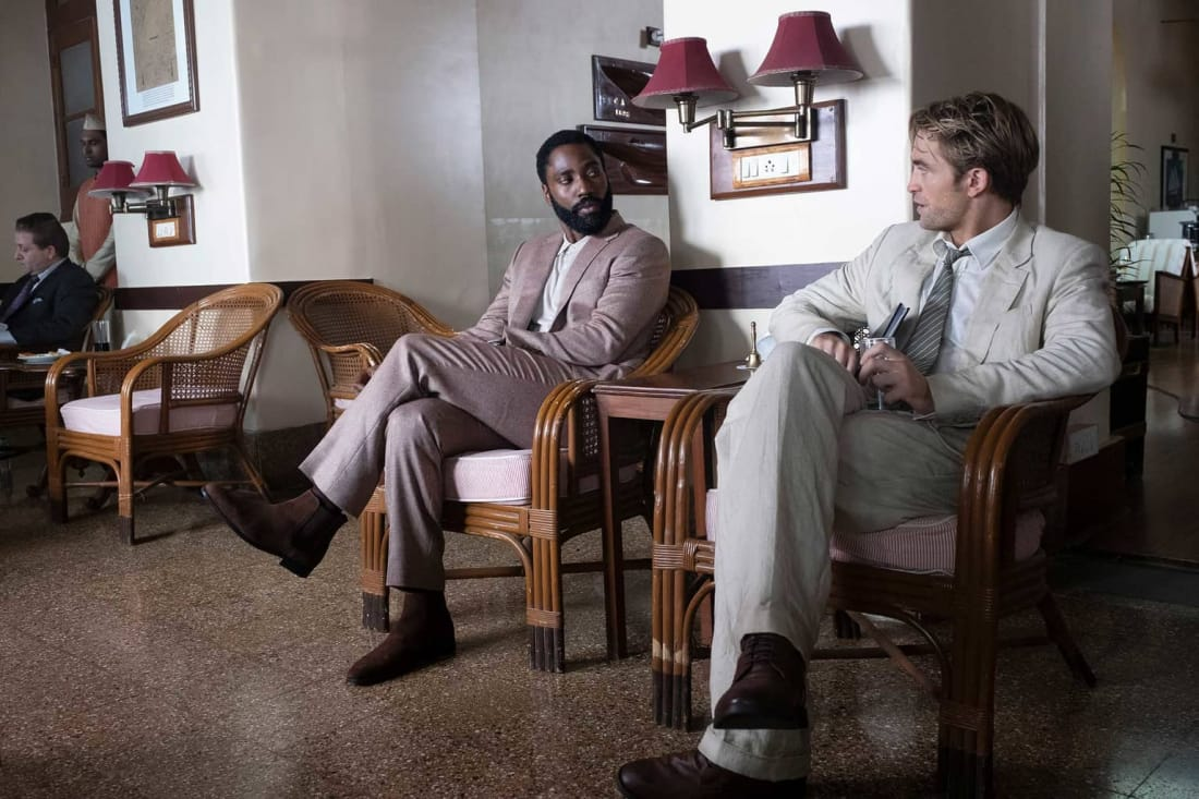 John David Washington Robert Pattinson Tenet