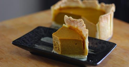 Homemade Pumpkin Pie Japan