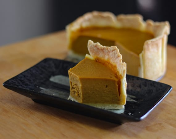 Homemade Pumpkin Pie Japan