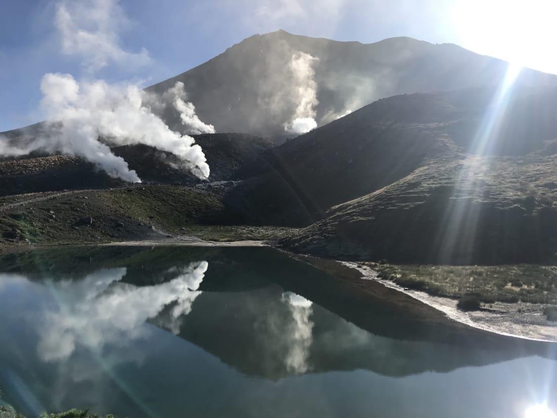 daisetsuzan-traverse Hokkaido Asahidake