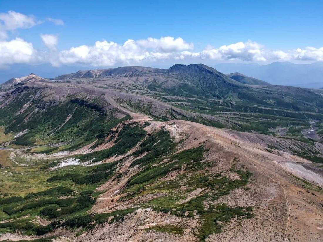 daisetsuzan-traverse Hokkaido