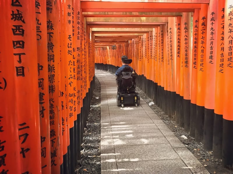 accessible travel Kyoto