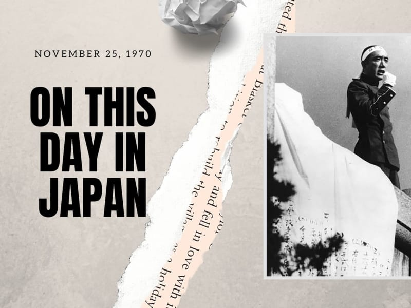 On This Day in Japan: The Shocking Death of Novelist Yukio Mishima