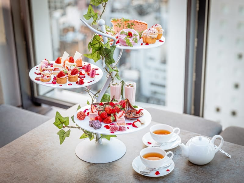 what's new in shibuya - afternoon tea in Ce la Vie
