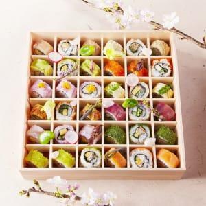 floral sushi