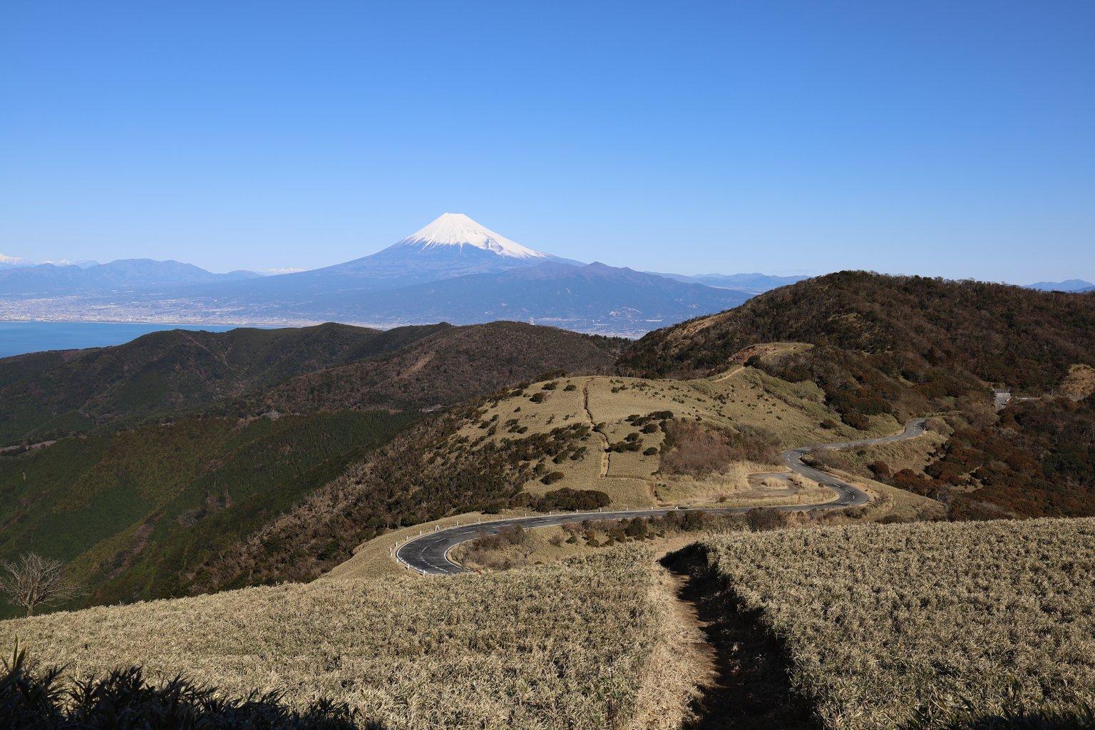 Izu city mount Fuji