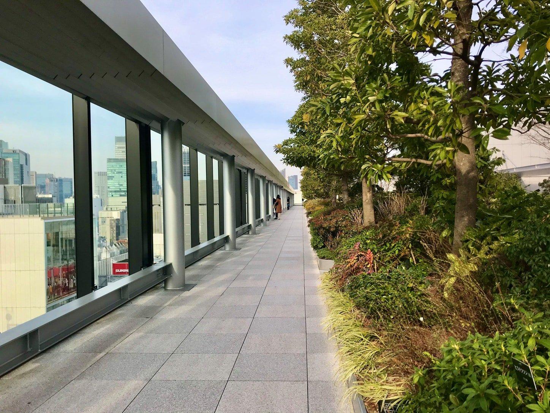 ginza six rooftop
