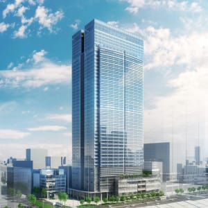 tokyo midtown yaesu new skyscraper