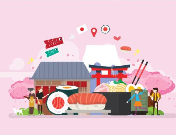 raw Japanese foods