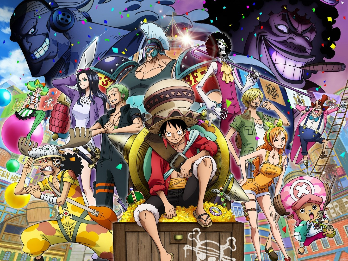 """For the 2019 movie: (C) Eiichiro Oda / 2019 """"One Piece"""" Production Committee"""