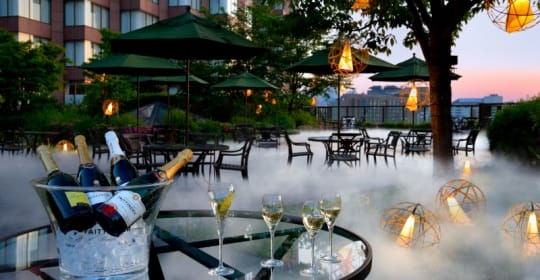Hotel Chinzanzo clouds