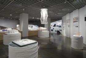Kuma Kengo Installation Exhibition Architecture National Olympic Stadium